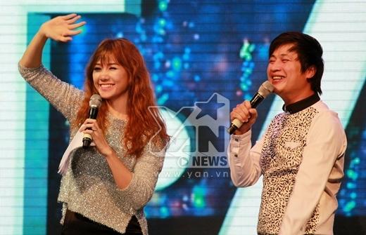 2 MC chính của chương trình đó là Quốc Quân và cô nàng ca sĩ người Việt gốc Hàn – Hari Won.