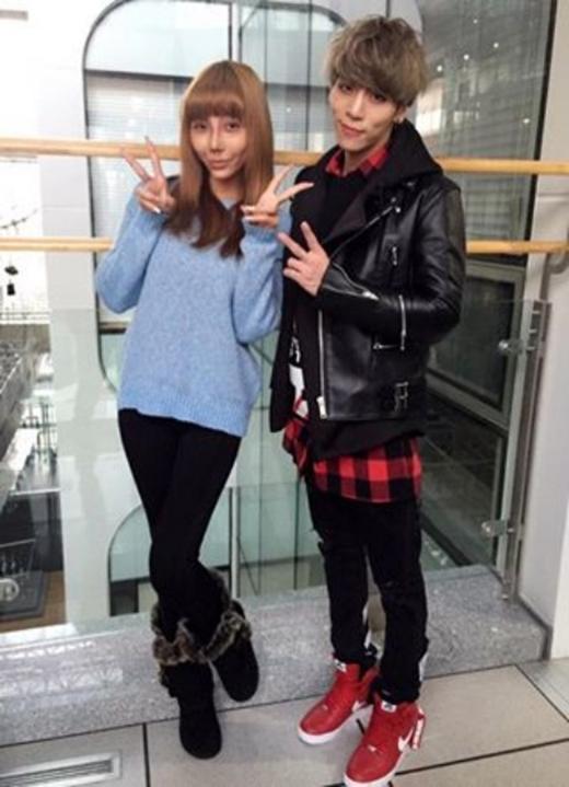 Lâm Vân bên Jonghyun