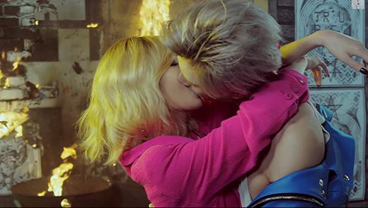 Cặp đôi 'Trouble Maker' HyunA và Hyunseung từng 'làm mưa làm gió' với những tình tứ cuồng nhiệt trong MV Now.
