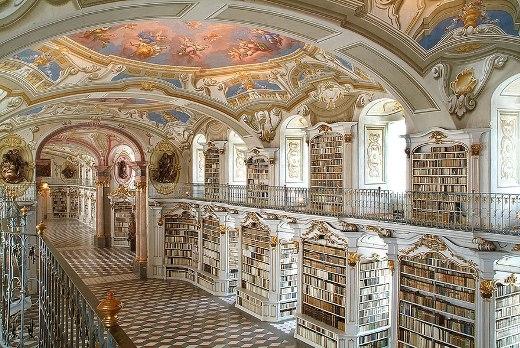 Thư viện ở Admont, Áo
