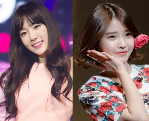 """Nổi tiếng qua những ca khúc nhạc phim,Taeyeon (SNSD)sở hữu chất giọng da diết và đong đầy tình cảm, trong khi đó, giọng hát cao và trong sáng của """"em gái quốc dân""""IUcũng chiếm được khá nhiều tình cảm của khán giả. Sự kết hợp hoàn hảo của hai mảnh ghép này sẽ là một sân khấu """"khủng"""" đầy hứa hẹn."""