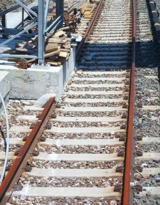 Đường ray không dành cho tàu hỏa.