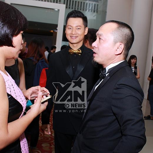 Đức Tuấn và nhạc sĩ Quốc Trung - Tin sao Viet - Tin tuc sao Viet - Scandal sao Viet - Tin tuc cua Sao - Tin cua Sao