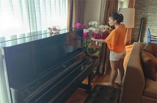 Một góc trong căn hộ mà Thu Minh thuê 200 triệu/tháng. - Tin sao Viet - Tin tuc sao Viet - Scandal sao Viet - Tin tuc cua Sao - Tin cua Sao
