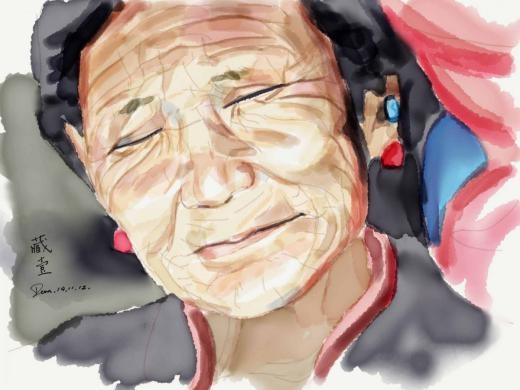 Cảm xúc trong tranh Zhao Dean