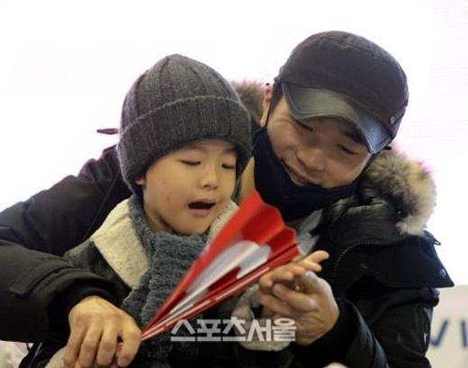 Hình ảnh con trai của Kwon Sang Woo