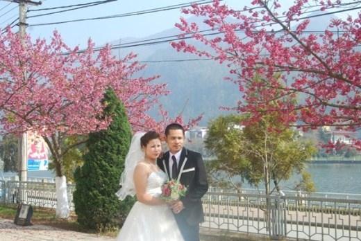 Cảnh đẹp tuyệt vời này đã quyến rũ nhiều cặp đôi đến chụp ảnh cưới