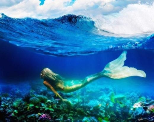 Đam mê của cô ấy luôn luôn là đại dương sâu thẳm và cô không thể nhớ nổi việc mình bắt đầu có tình yêu với biển từ khi nào.