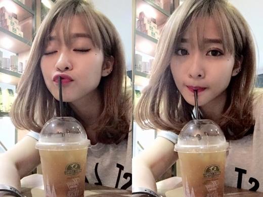 Khả Ngân đi cà phê một mình, cô nàng hài hước chia sẻ: 'Ai đi uống cà phê với muội không?'