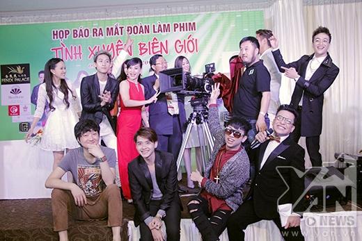 Các thành viên trong đoàn phim ra mắt báo chí, truyền thông Việt Nam. - Tin sao Viet - Tin tuc sao Viet - Scandal sao Viet - Tin tuc cua Sao - Tin cua Sao