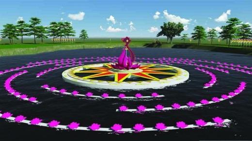 """Ngoài lễ hội đường hoa diễn ra từ ngày 16/2 (28 Tết) đến 24/2 (mùng 6 Tết), tại khu vực Văn miếu Trấn Biên còn diễn ra các hoạt động như: Hội báo xuân Ất Mùi, triển lãm thư pháp """"Xuân an khang"""", lễ rước đèn và thả hoa đăng kỷ niệm 300 Văn miếu Trấn Biên, lễ tết thầy..."""