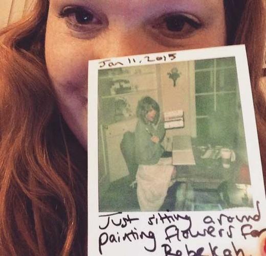 Rebekah Bortniker,fan may mắn nhận được quà và sự hỗ trợ từ Taylor Swift