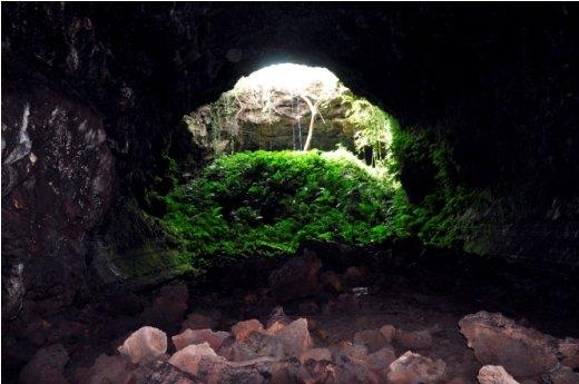 Hang C7 ẩn mình dưới lòng đất 20m - Ảnh: Trần Thế Dũng