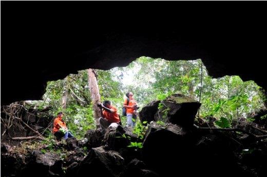 Cửa hang C3 - Ảnh: Trần Thế Dũng