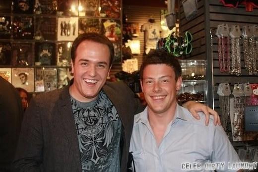 Cory và anh trai Shaun Monteith