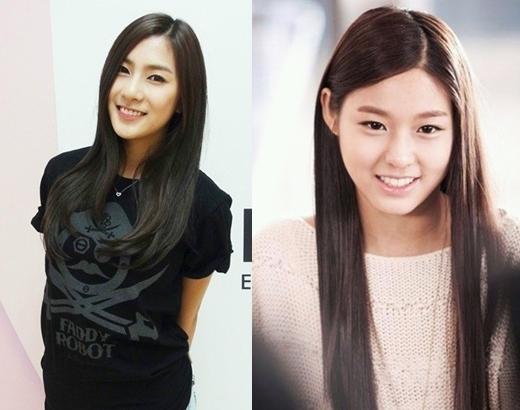 Năm nay vừa tròn 20 tuổi nhưng trôngHayoung (Apink)mang nhiều nét trưởng thành và chững chạc hơnSeolhyun (AOA).