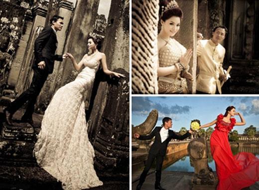 Ảnh cưới lãng mạn của cặp đôi. - Tin sao Viet - Tin tuc sao Viet - Scandal sao Viet - Tin tuc cua Sao - Tin cua Sao