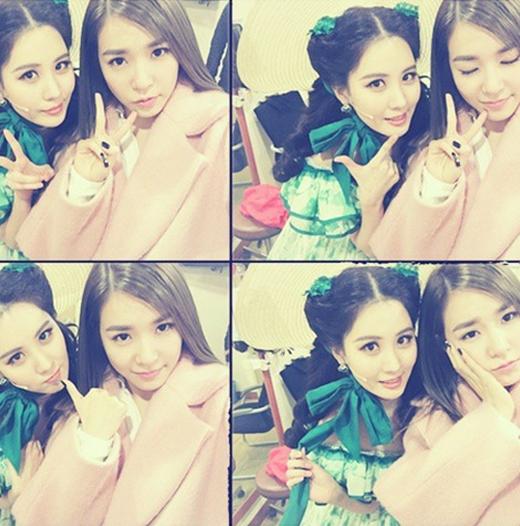 Seohyun vô cùng hạnh phúc khi Tiffany đã đến xem nhạc kịch và ủng hộ cô. Cô viết: 'Chị Fany của chúng ta, đã đến xem và ủng hộ cho Seocarlett . Bởi vì có chị ở đây em lại càng mạnh mẽ và hạnh phúc hơn. Em rất biết ơn lời khen và ủng hộ chân thành của chị. Yêu chị'.