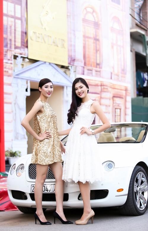 Sánh đôi cùng Lã Kiều Anh là bạn thân của cô – siêu mẫu hình thể của Siêu mẫu Việt Nam 2013 Trần Linh.