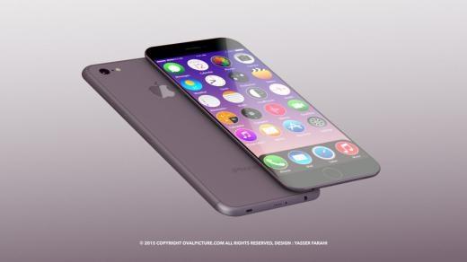 Mẫu iPhone 7 màu rượu sang trọng, lịch lãm
