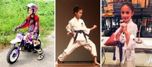 Kiuchi Maru xinh đẹp và rất giỏi Karate