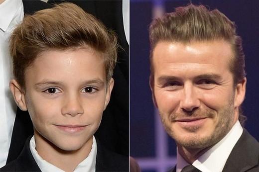 David cùng con trai thứ hai Romeo