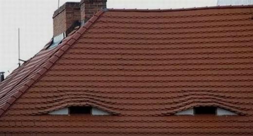Mái nhà này có đôi mắt khá gian xảo