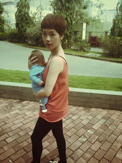 Nhìn thế này ai nghĩ Trà My Idol đã trở thành 'bà mẹ một con'?? - Tin sao Viet - Tin tuc sao Viet - Scandal sao Viet - Tin tuc cua Sao - Tin cua Sao