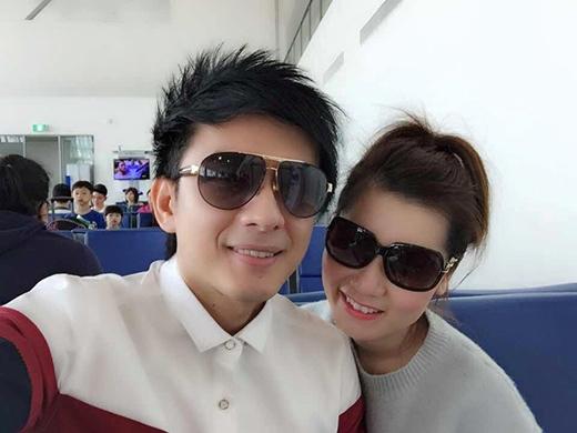 Hai vợ chồng anh Bo có sở thích chụp ảnh selfie - Tin sao Viet - Tin tuc sao Viet - Scandal sao Viet - Tin tuc cua Sao - Tin cua Sao