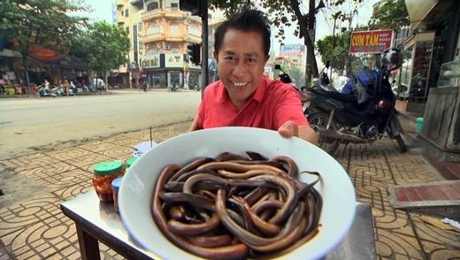 Yan khoe món lươn 'nhớp nháp' đặc sản Ninh Bình.