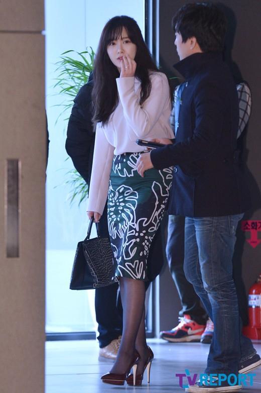 Goo Hye Sun là khách mời đến sớm nhất trong lễ cưới.