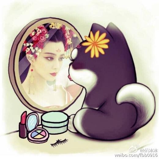 Nữ diễn viên họ Phạm đăng đàn Weibo và còn chia sẻ ảnh khá mập mờ