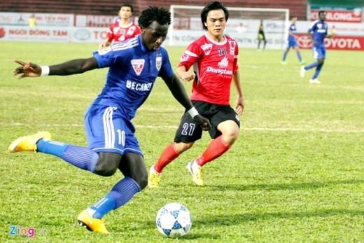 Trận đấu kết thúc với tỷ số 3-1 nghiêng về đội bóng của HLV Ngô Quang Sang. Long An vẫn đang tiếp tục chuỗi trận bất bại tính đến vòng đấu thứ 7 V.League 2015.