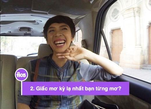 Thu Trang cười ngất khi nghe câu hỏi