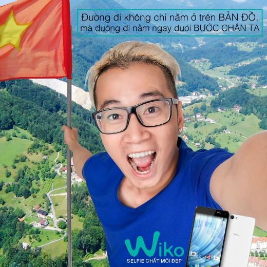 Karik vùa góp mặt trong một video clip mới rất ý nghĩa của Wiko về Tết