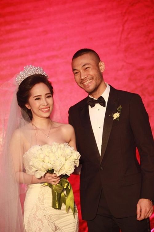 Quỳnh Nga - Doãn Tuấn trong đám cưới. - Tin sao Viet - Tin tuc sao Viet - Scandal sao Viet - Tin tuc cua Sao - Tin cua Sao
