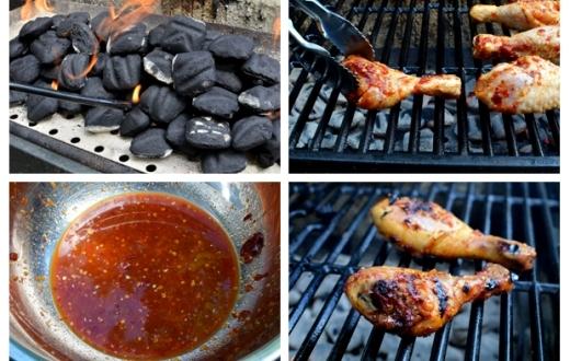 Nướng từng mặt khoảng 30-35 phút trước khi trở ở nhiệt độ vừa phải cho tới khi chín đều và tỏa mùi thơm. Thế là bạn đã hoàn tất món gà nướng BBQ này rồi.