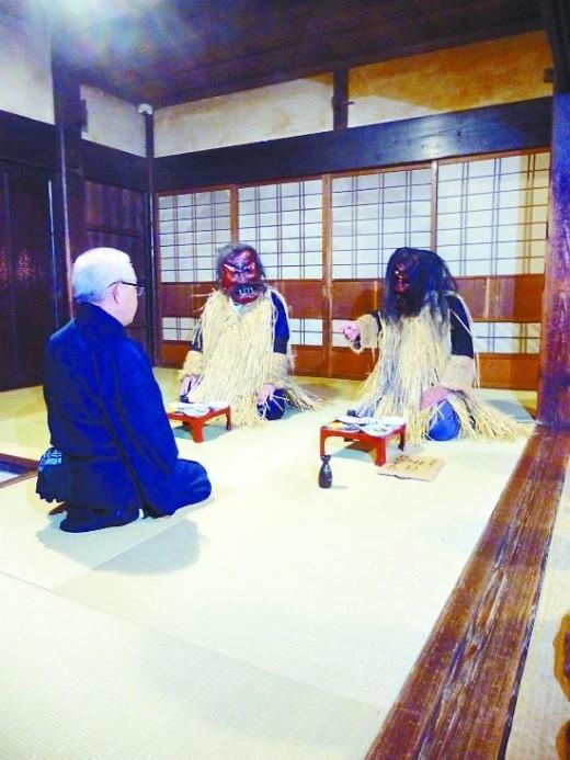 Vào đêm trước năm mới, người Nhật có phong tục mời quỷ Sinh Bác (Sinh là sinh mệnh, Bác là tước bỏ) đến nhà bắt trẻ lười và con dâu không hiếu thuận, cũng là để trừ ma diệt tà.