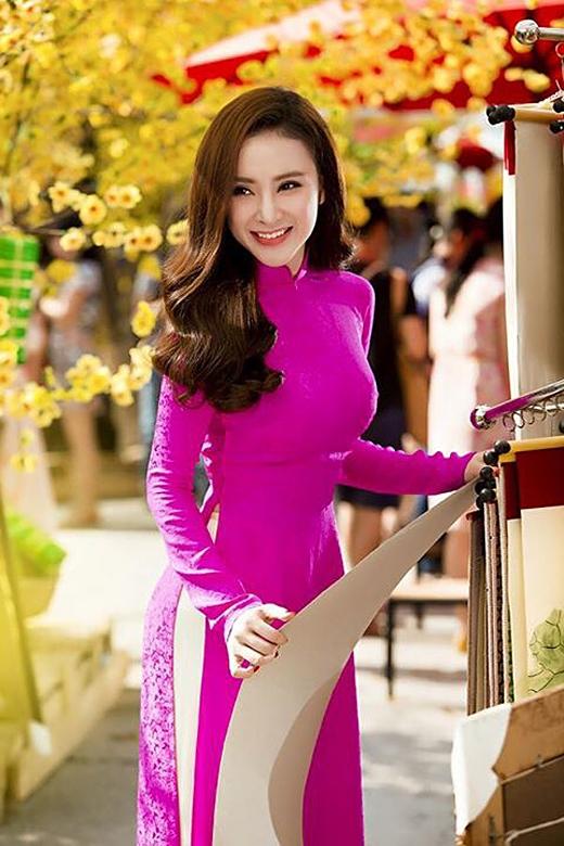 """Angela Phương Trinh: """"Năm mới Tết đến, Trinh cầu chúc cho tất cả mọi người sức khoẻ dồi dào, thành công và hạnh phúc'"""