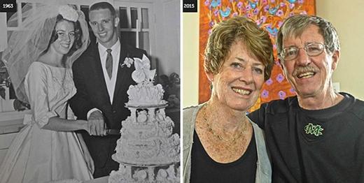 'Chúng tôi thật sự rất trẻ khi kết hôn vào năm 1963 với không nhiều kinh nghiệm thực tế. Nhưng chúng tôi nghĩ rằng mình biết được hầu hết các điều cần biết và thực tế đã chứng minh điều đó đúng', bà Wildwood nói.
