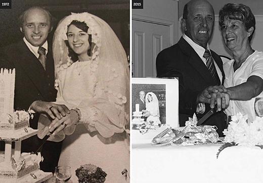 'Glyn chỉ nghỉ hưu vài năm trước và chúng tôi đang bắt đầu cuộc sống của chúng tôi với nhau thêm một lần nữa. Ông vẫn dí dỏm, đầy thú vị và tràn đầy tình yêu đối với tôi và gia đình của chúng tôi, chúng tôi tận hưởng từng ngày bên nhau'. MollyMay cho biết bà sẽ không thay đổi bất cứ điều gì về cuộc hôn nhân hơn 40 năm của họ.