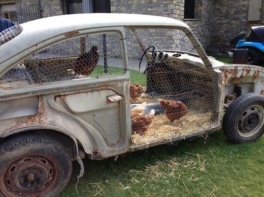 Woa. Một ý tưởng tuyệt vời dành cho những ai thích nông trại.