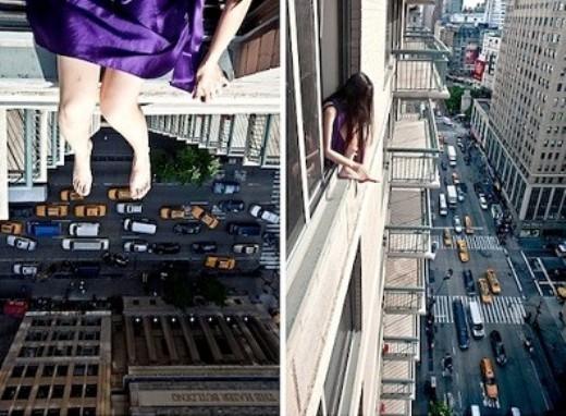 Theo Fox News, Ahn Jun là một nhiếp ảnh gia gốc Hàn Quốc. Cô được biết đến chủ yếu nhờ hàng loạt ảnh tự chụp chân dung ở trên đỉnh của nhiều tòa nhà cao tầng.