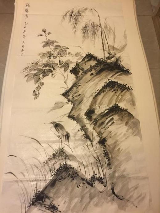 Bức tranh được khen như kiệt tác, chẳng kém tác phẩm họa sĩ chuyên nghiệp