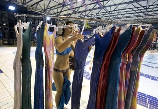 Học viên có nhiều sự lựa chọn trang phục cho bài tập.