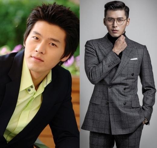 Sau khi xuất ngũ,Hyun Bintrưởng thành thấy rõ về ngoại hình, trở thành quý ông lịch lãm đầy cuốn hút.