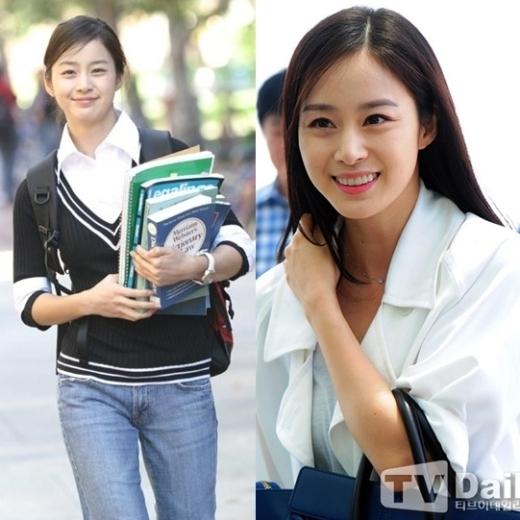 Không còn là cô nữ sinh của trường đại học Harvard,Kim Tae Heegiờ đây đã nằm trong danh sách nữ diễn viên sáng giá nhất làng giải trí Hàn Quốc với nét đẹp hoàn hảo theo năm tháng.