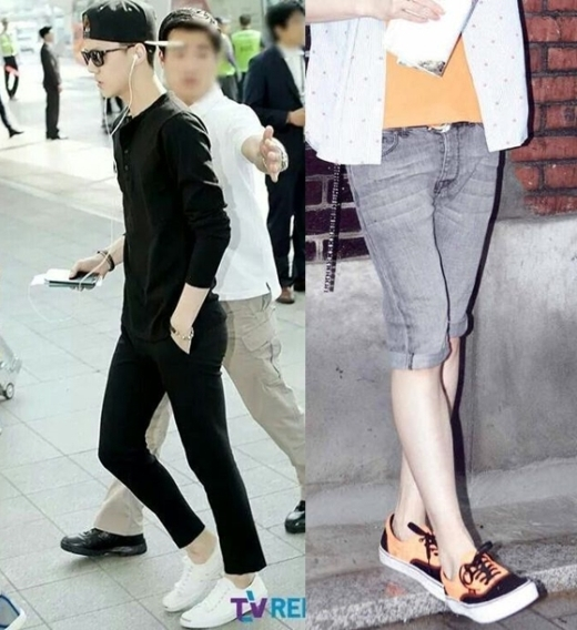 Đôi chân không tỳ vết củaSehun (EXO)cũng khiến nhiều người ngưỡng mộ.