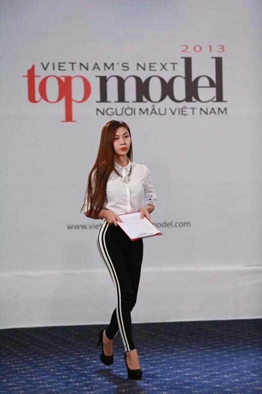 Cô gây được sự chú ý tại vòng casting cuộc thi Vietnam's Next Top Todel 2013. - Tin sao Viet - Tin tuc sao Viet - Scandal sao Viet - Tin tuc cua Sao - Tin cua Sao