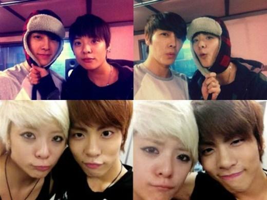 Vừa ra mắt,Amberđã gây chú ý vì gương mặt có nhiều nét giống vớiJonghyun (SHINee)vàDonghae. Thậm chí, cả 3 còn có fansite riêng mang tênThe Dinorsaur(khủng long) hệt như biệt danh các fan ưu ái đặt cho.